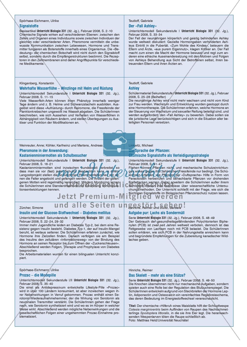 Signalstoffe: Der Fall Ashley - Merkmale und Behandlungsmöglichkeiten von Hormonstörungen Preview 6
