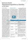 Tier und Mensch: Räuberische Übergriffe - Populationsregulation der Seeotter vor den Aleuten Preview 3