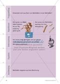 Kartenlegespiel zum naturwissenschaftlichen Forschen über die Eigenschaften verschiedener Lebewesen. Mit ausführlicher Anleitung Preview 13