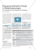 Physik, Mechanik, Energie, Erneuerbare Energien, alternative Energien, Windkraft