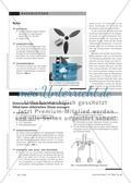 Erzeugung elektrischer Energie in Windenergieanlagen - Eine Unterrichtseinheit zum Energiebegriff für die Hauptschule Preview 2