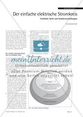 Der einfache elektrische Stromkreis - Fachliche Sicht und Schülervorstellungen Preview 1