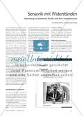 Sensorik mit Widerständen - Erkundung verschiedener Geräte und ihrer Funktionsweise Preview 1