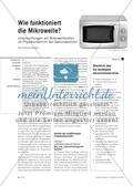 Wie funktioniert die Mikrowelle? - Untersuchungen am Mikrowellenofen im Physikunterricht der Sekundarstufe I Preview 1