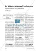 elektrizitätslehre, schülerexperiment, differenzierung, transformator, lehrerexperiment