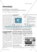 Stereoskopie - Eine alte Technik in neuem Gewand für einen modernen naturwissenschaftlichen Unterricht Preview 1