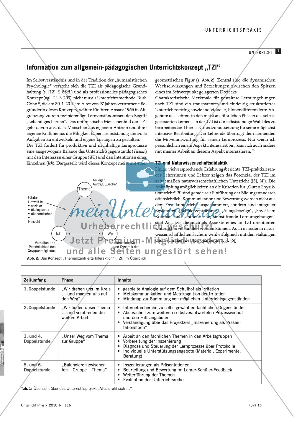 Infotext: Unterrichtseinheiten zur Förderung der Kommunikationskompetenz  entwerfen Preview 1