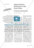Industrialisierte Rindermast in den Great Plains - Ein Beitrag zur Entwicklung und Förderung der Lesekompetenz im Geographieunterricht Preview 1