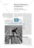 Erdkunde, Wirtschaft, Länderkunde, Landwirtschaft, Staaten, Länder, USA, Wasserknappheit, Kalifornien