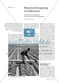 Wasserverknappung in Kalifornien - Eine Ressource im Widerstreit unterschiedlicher Nutzungsansprüche Preview 1