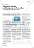 Persönliche Notizen zur Erforschung der Todrha-Oase - Ein Beitrag zur wissenschaftspropädeutischen Orientierung Preview 1