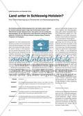 Land unter in Schleswig-Holstein? - Eine Unterrichtsanregung zu Klimawandel und Meeresspiegelanstieg Preview 1