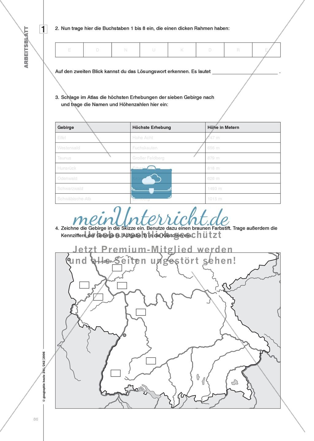 Klimawandel: Übungen zur Auswertung von Texten und der Arbeit mit Karten Preview 2