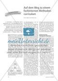 Auf dem Weg zu einem fachinternen Methodencurriculum Preview 1