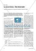 La terra trema – Die Erde bebt - Umgang mit Katastrophen am Beispiel des Erdbebens im Belice-Tal, Sizilien Preview 1