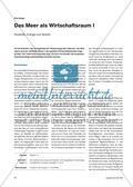 Das Meer als Wirtschaftsraum I - Rohstoffe, Energie und Verkehr Preview 1