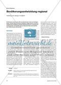 Bevölkerungsentwicklung regional - Hamburg und Leipzig im Vergleich Preview 1