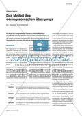 Das Modell des demographischen Übergang - Ein