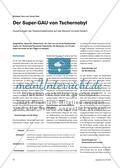 Erdkunde, Methodik, Problemlösekompetenz, Probleme, Tschernobyl, mensch-umwelt-systeme, Atomkraft