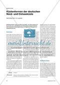 Küstenformen der deutschen Nord- und Ostseeküste - Nachhaltig Üben mit Legesets Preview 1