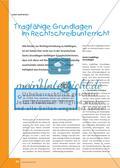 Tragfähige Grundlagen im Rechtschreibunterricht Preview 1