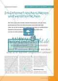 Im Internet recherchieren und veröffentlichen Preview 1