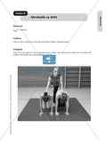 Stationenlernen zur Akrobatik zu den Kernthemen des Lehrplans Preview 8