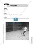 Stationentraining zum Zielen und Schießen / Werfen im Fußball und Basketball. Mit Übungsanleitungen und Laufzettel. Preview 2