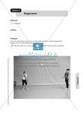 Stationenlernen zum Volleyball - Pritschen, Baggern und Partnerübungen Preview 2
