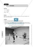 Stationenlernen zum Volleyball - Pritschen, Baggern und Partnerübungen Preview 9
