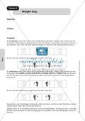 Stationentraining mit Übungen aus dem Tanzen. Mit Übungsanleitungen und Laufzettel. Preview 5