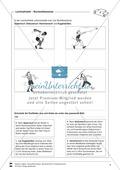 Arbeitsbögen zur Theorie und Geschichte der Leichtathletik für Sportunterricht im Klassenzimmer. Preview 5