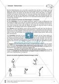 Volleyball: Sportunterricht im Kassenzimmer - Mit Arbeitsblättern in Quiz- und Testform zu theoretischen Fragen des Volleyballs. Preview 5