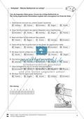 Volleyball: Sportunterricht im Kassenzimmer - Mit Arbeitsblättern in Quiz- und Testform zu theoretischen Fragen des Volleyballs. Preview 6