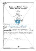 Sportspiele zum Gleiten und Rollen - spielen mit dem Rollbrett auf dem Schulhof Preview 2