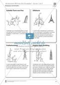Akrobatik: 4er-Pyramiden in Form von Sehenswürdigkeiten Preview 2