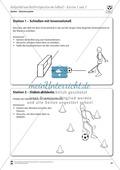 Ballgefühl und Ballfertigkeit im Fußball üben an Stationen Preview 2