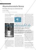 Aluminothermische Bronze - Mit brisanter Gitterenergie zum alchimistischen Gold Preview 1