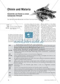 Die Malaria-Erkrankung und die Wirkung von Chinin Thumbnail 0