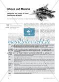 Chinin und Malaria - Geschichte und Chemie zu einem bedeutenden Wirkstoff Preview 1