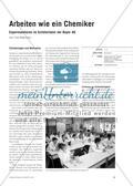 Arbeiten wie ein Chemiker - Experimentieren im Schülerlabor der Bayer AG Preview 1