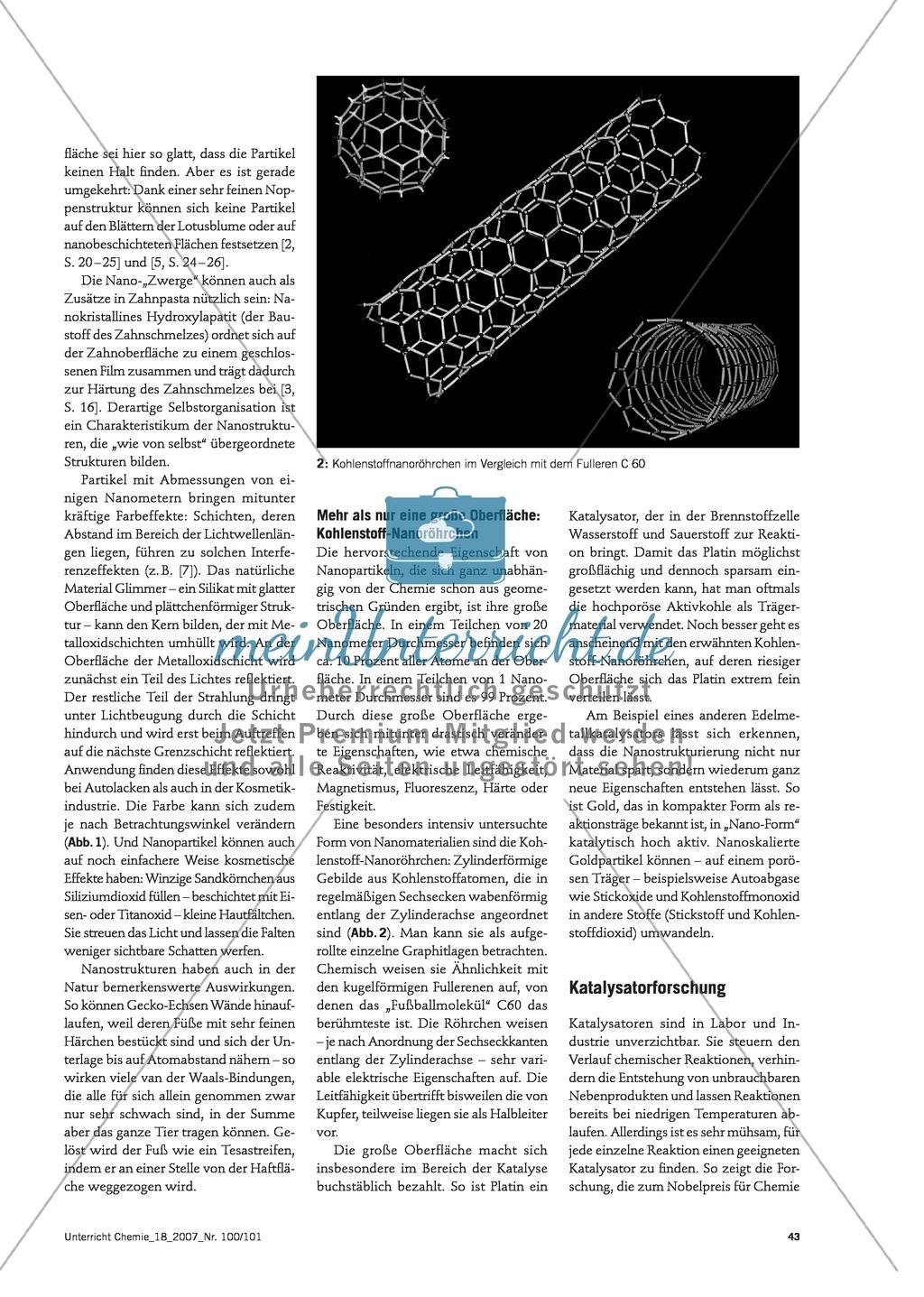 Infotext: Von Strukturen zu makroskopischen Eigenschaften - Beispiele, Erfahrungen, Lücken Preview 1