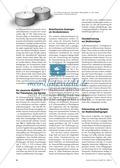 Experimentelle Lehrlinie zur chemischen Reaktion Thumbnail 1