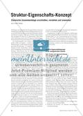 Struktur-Eigenschafts-Konzept - Chemische Zusammenhänge erschließen, verstehen und anwenden Preview 2