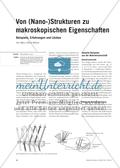 Von (Nano-)Strukturen zu makroskopischen Eigenschaften - Beispiele, Erfahrungen und Lücken Preview 1
