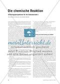 Die chemische Reaktion - Erklärungsperspektiven für die Sekundarstufe I Preview 2