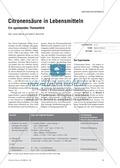 Chemie, Allgemeine Chemie, Organische Chemie, Säuren und Basen, Säuren