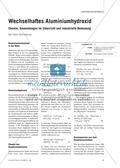 Chemie, Allgemeine Chemie, Chemische Reaktion, Chemisches Gleichgewicht, Reversibilität, Aluminium