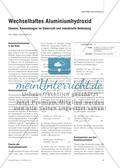 Wechselhaftes Aluminiumhydroxid - Chemie, Anwendungen im Unterricht und industrielle Bedeutung Preview 1