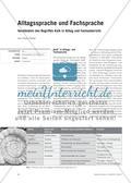 Alltagssprache und Fachsprache - Verständnis des Begriffes Kalk in Alltag und Fachunterricht Preview 1